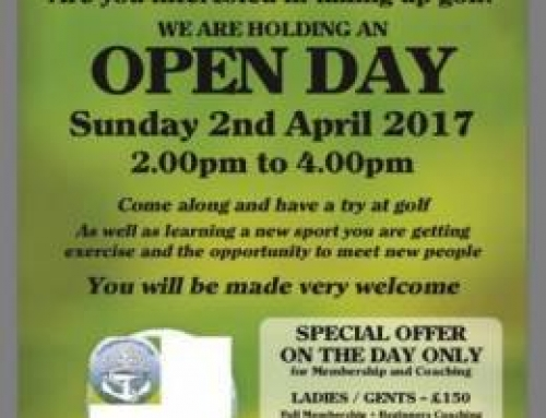 Lochgilphead Golf Club Open Day