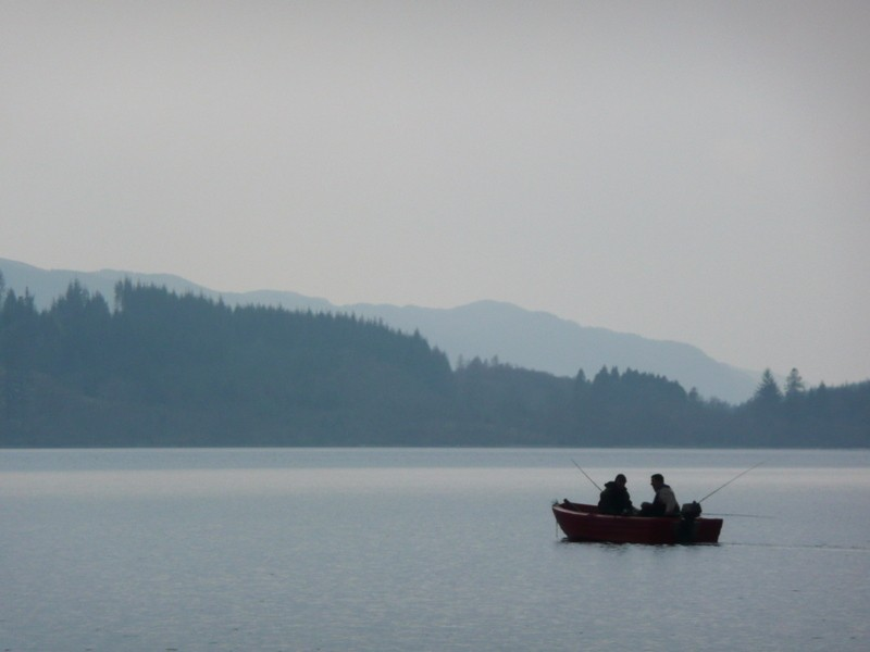 Fishing-in-the-early-light-on-Loch-Awe